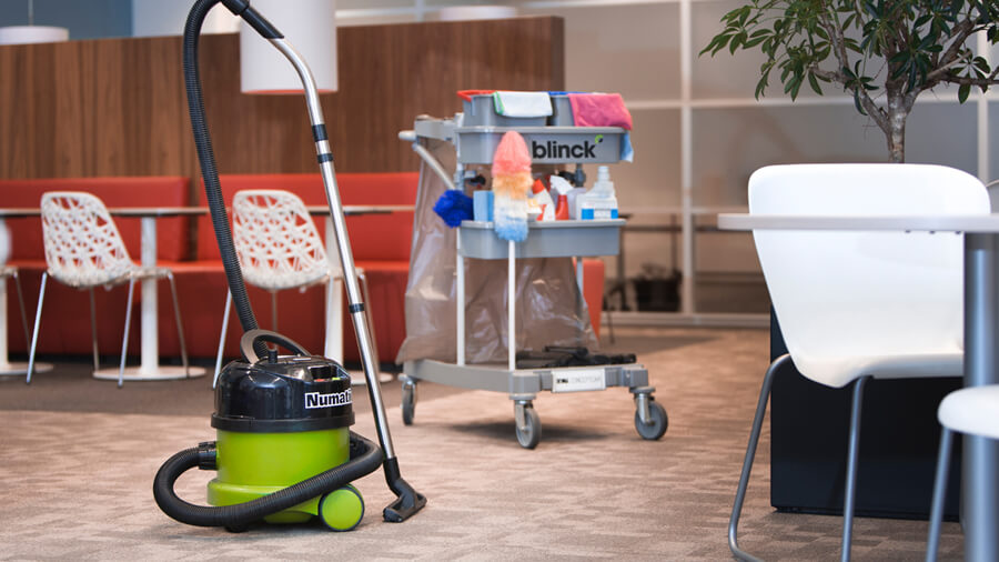 bedrijfsreportage voor schoonmaakbedrijf Blinck