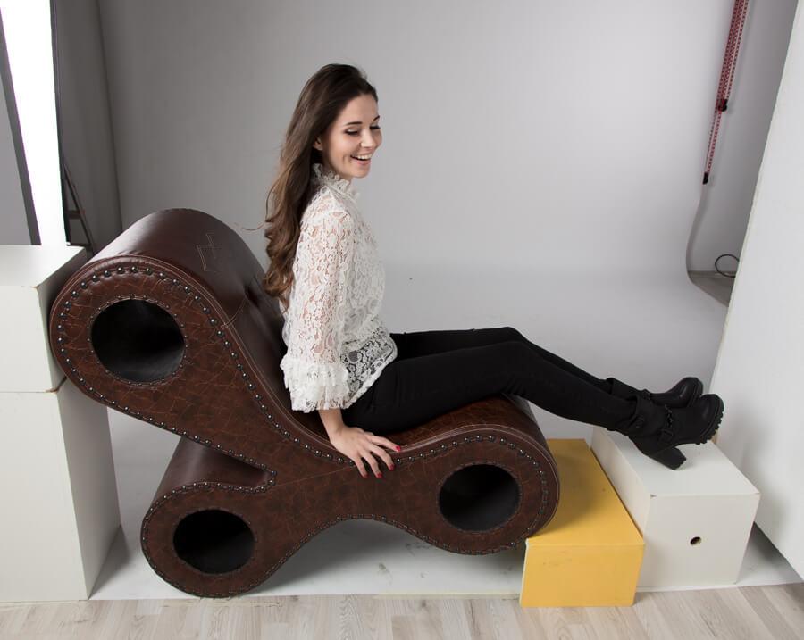 Model Jade In De Studio
