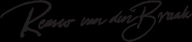 handtekening remco van den braak zwart