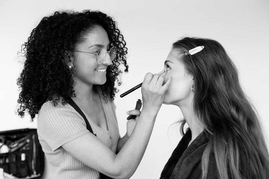 fotoshoot visagie en hairstyling