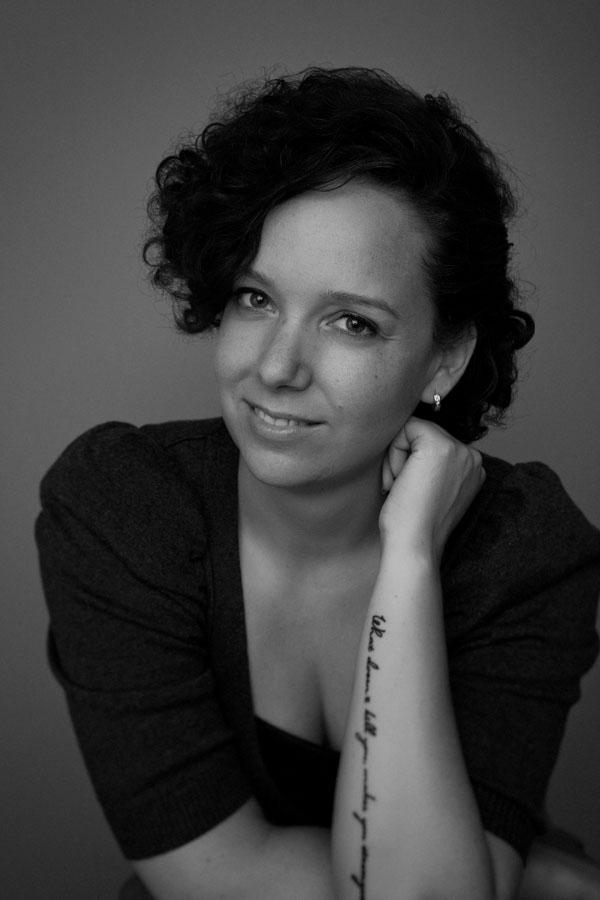 portret fotoshoot vrouw tattoo