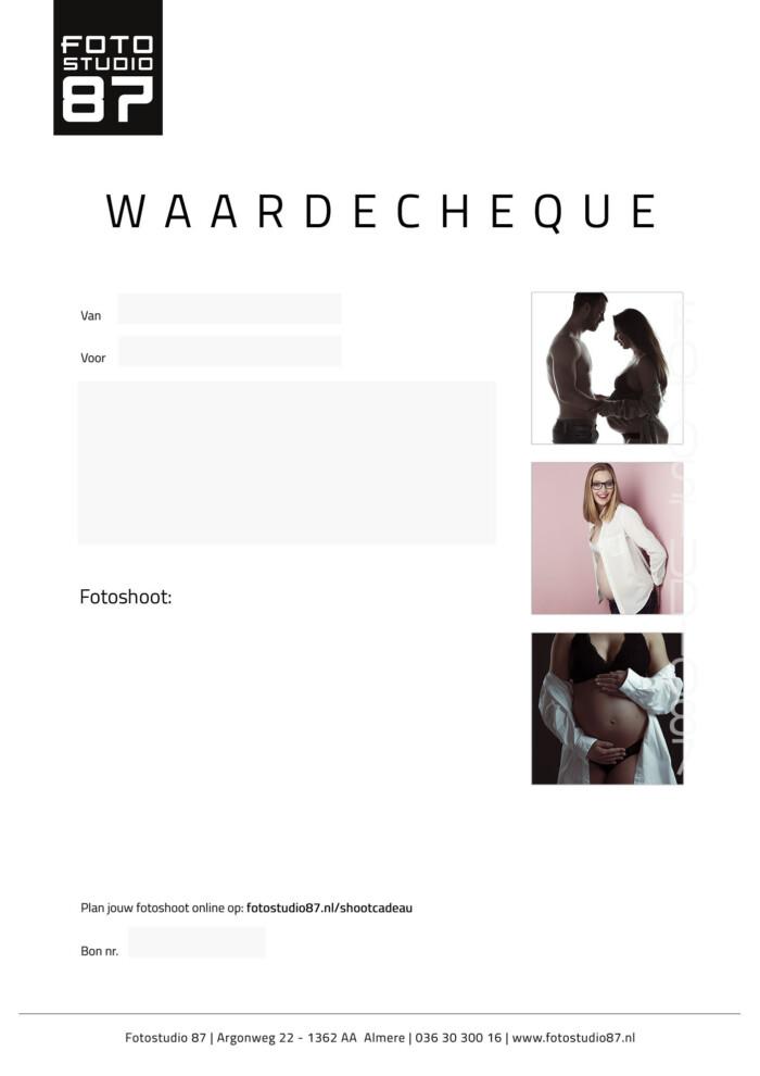 Zwanger Waardecheque