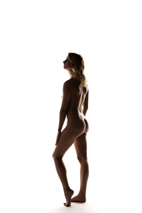 artistieke naakt fotoshoot vrouw