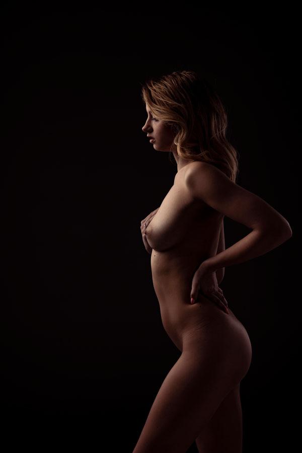 stijlvolle fotografie naakte vrouw