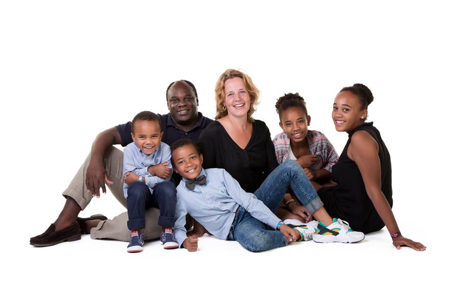 familie portret gezin met kinderen