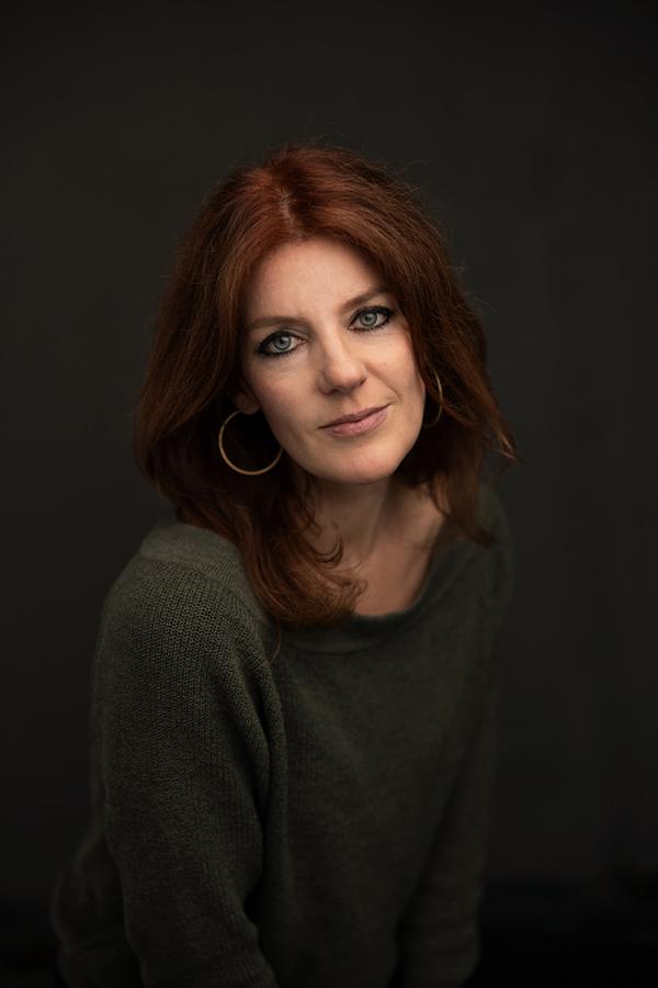 portret fotoshoot volwassen vrouw rood haar