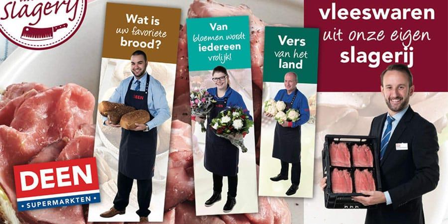 Deen Supermarkten reclame fotografie van medewerkers