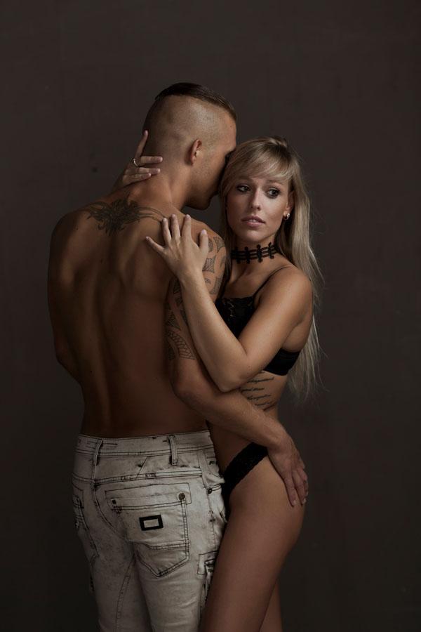 sexy fotoshoot lingerie man en vrouw