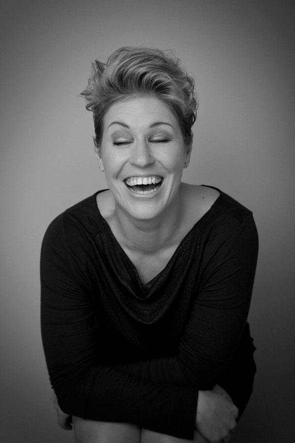 portret fotoshoot spontane vrouw