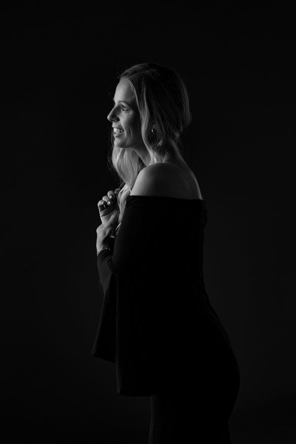 vrouw intiem portret