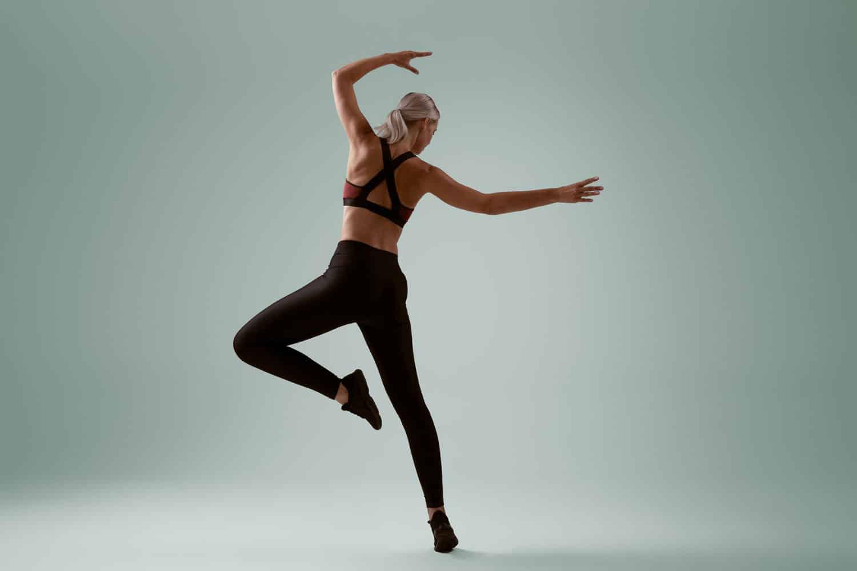 Ballet sport fotoshoot moderne dans
