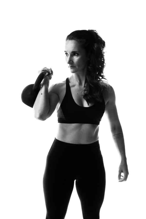 Sport en Fitness Fotoshoot - kettlebel