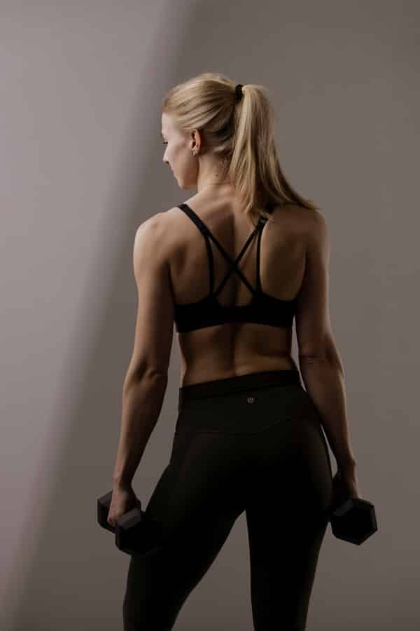 Sport en Fitness Fotoshoot - cross training dumbells