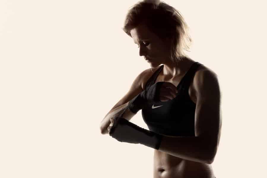 Sport en Fitness Fotoshoot - kickboksen - marcia coppens