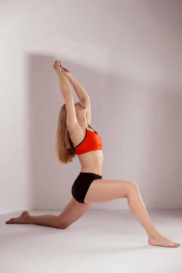 Sport en Fitness Fotoshoot - fitness lunge
